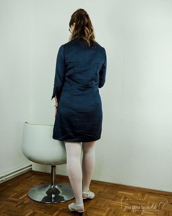 60er Kleid - Rückenansicht