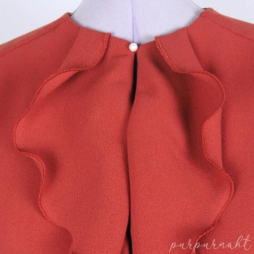 Bluse - Verschluss