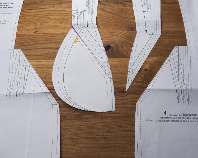 Kleid Tamara - Größenanpassung