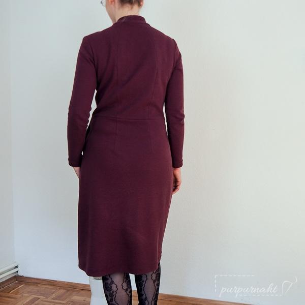 Rückenansicht des Kleids