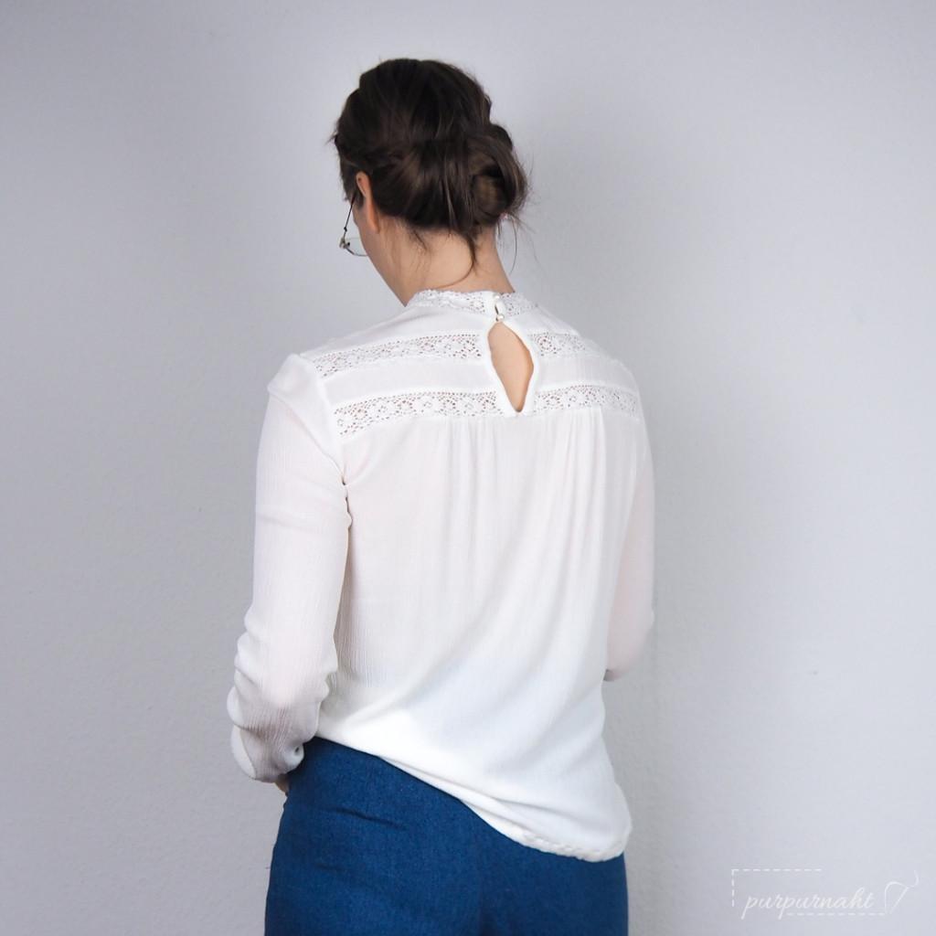 Bluse Edwina - Rückenansicht