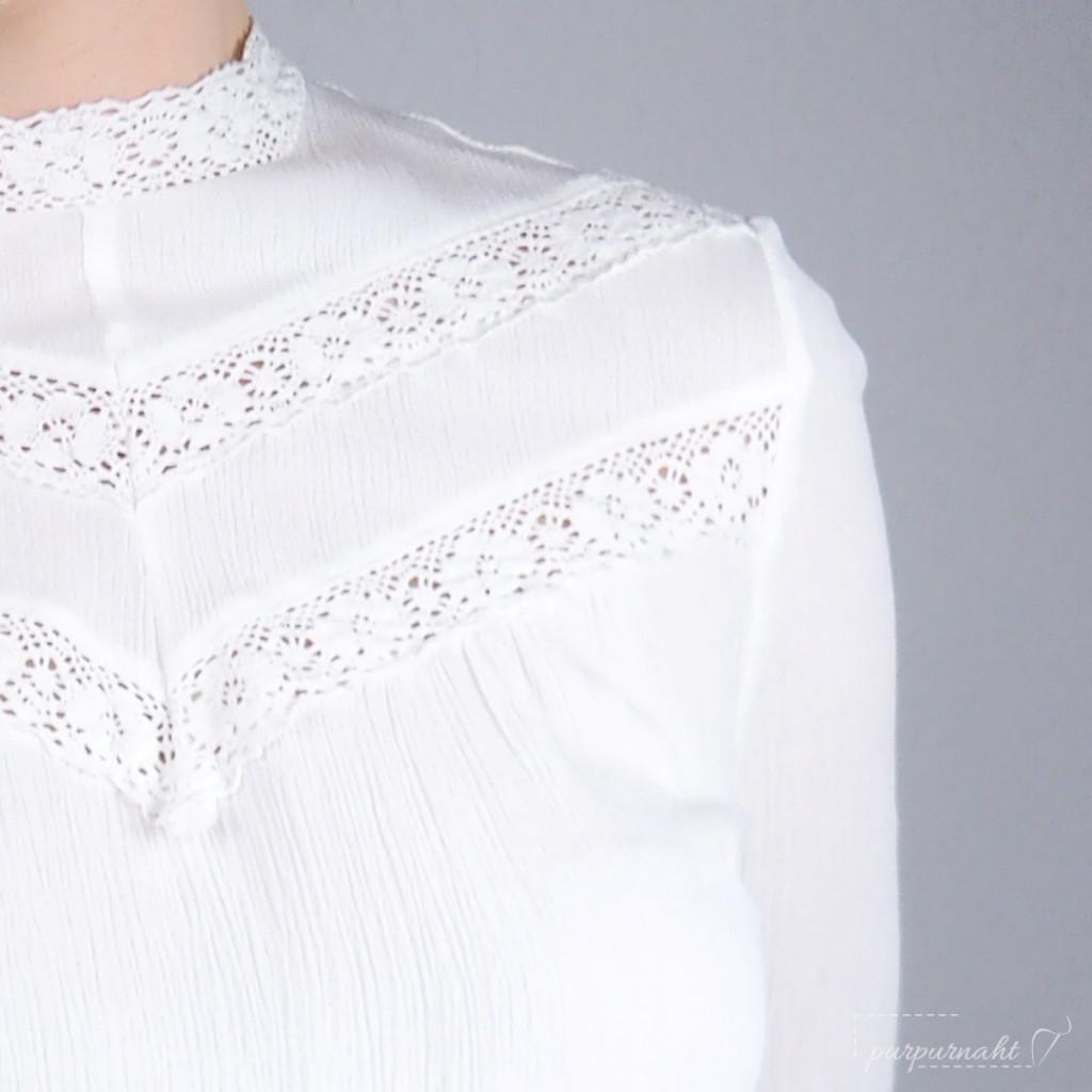 Bluse Edwina - Detail