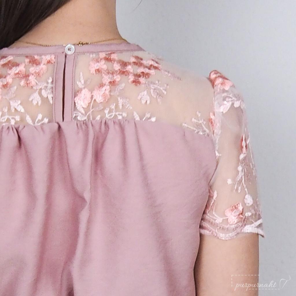 Kleid Edwina - Detail