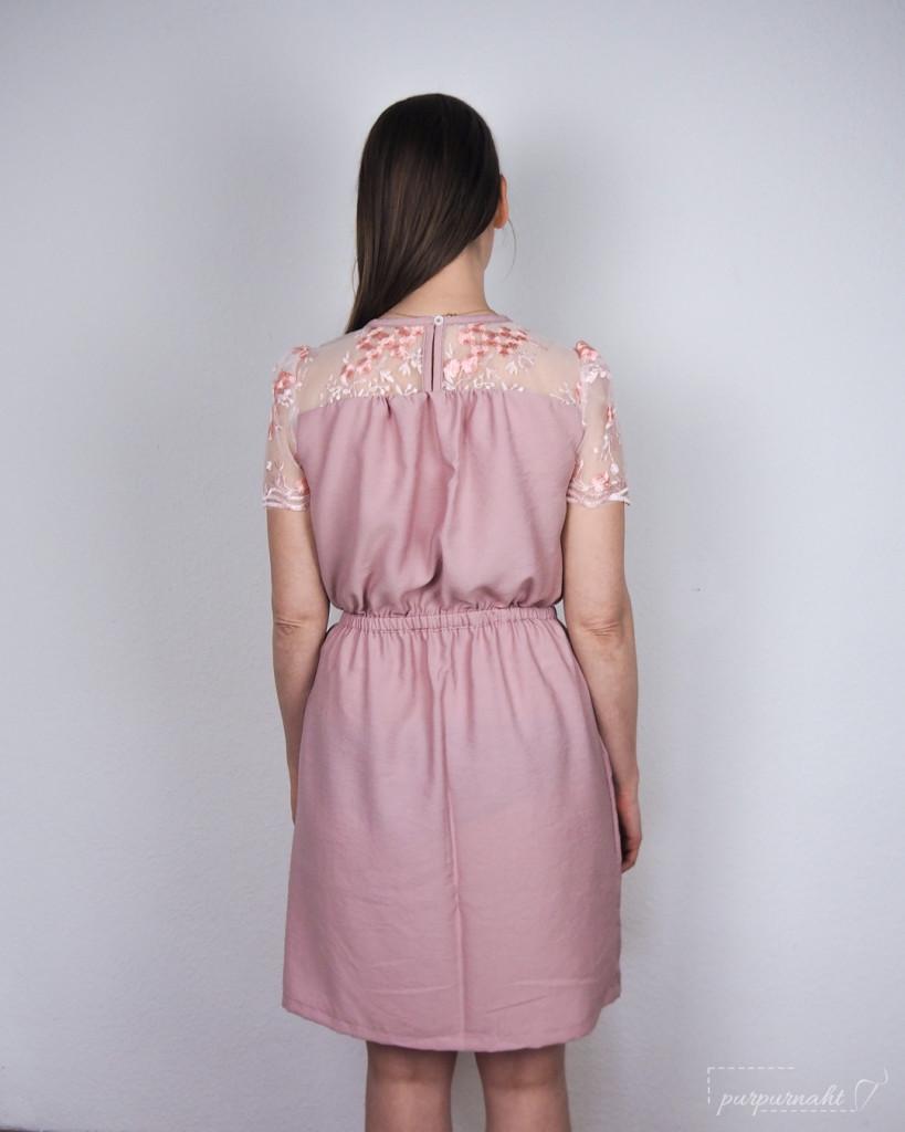 Kleid Edwina - Rückenansicht