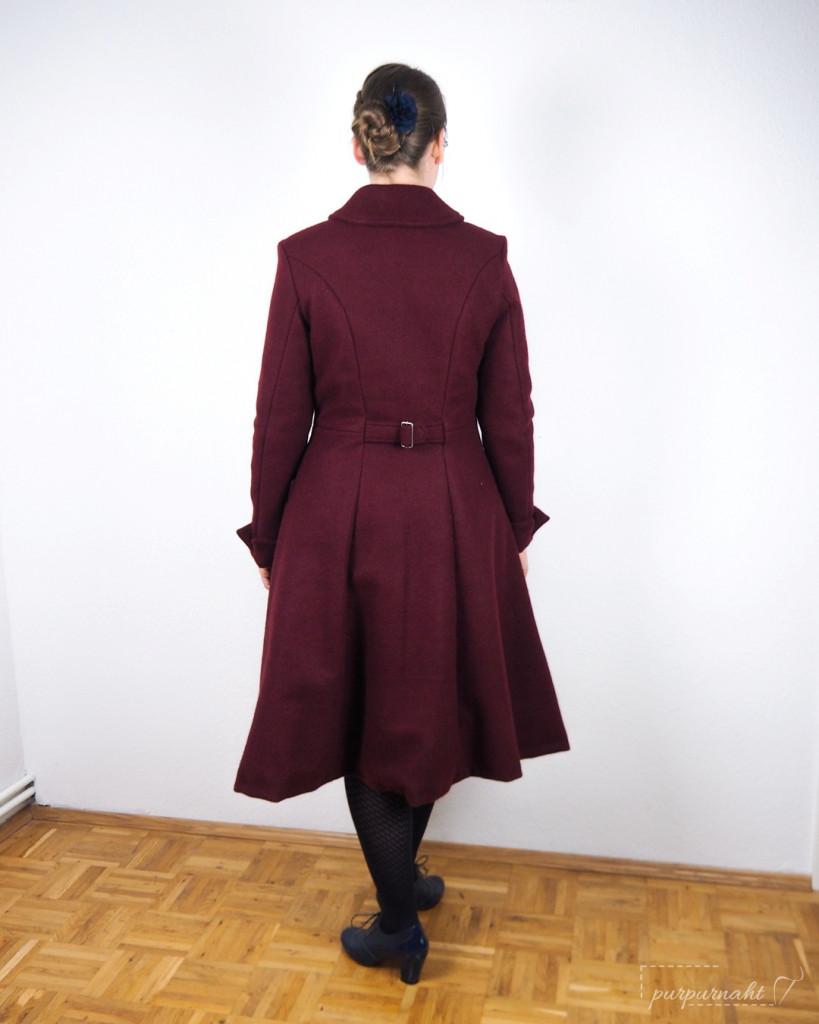 Mantel Ember - Rückenansicht