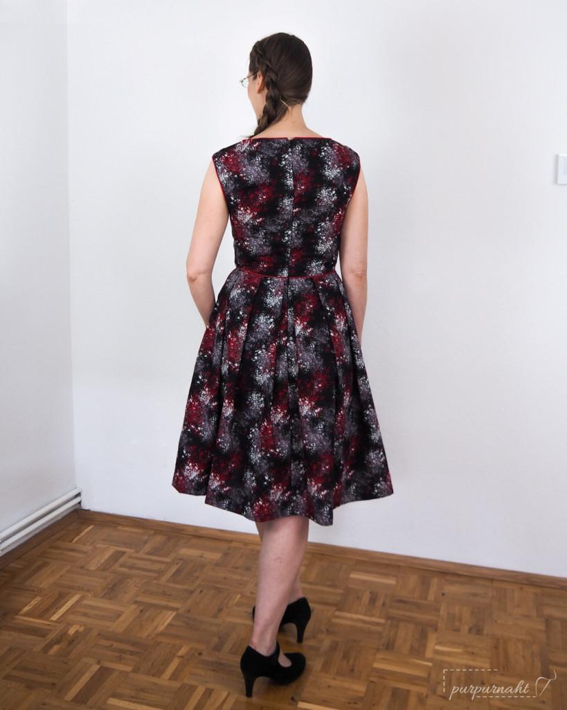 Kleid Henja 2 - Rückenansicht