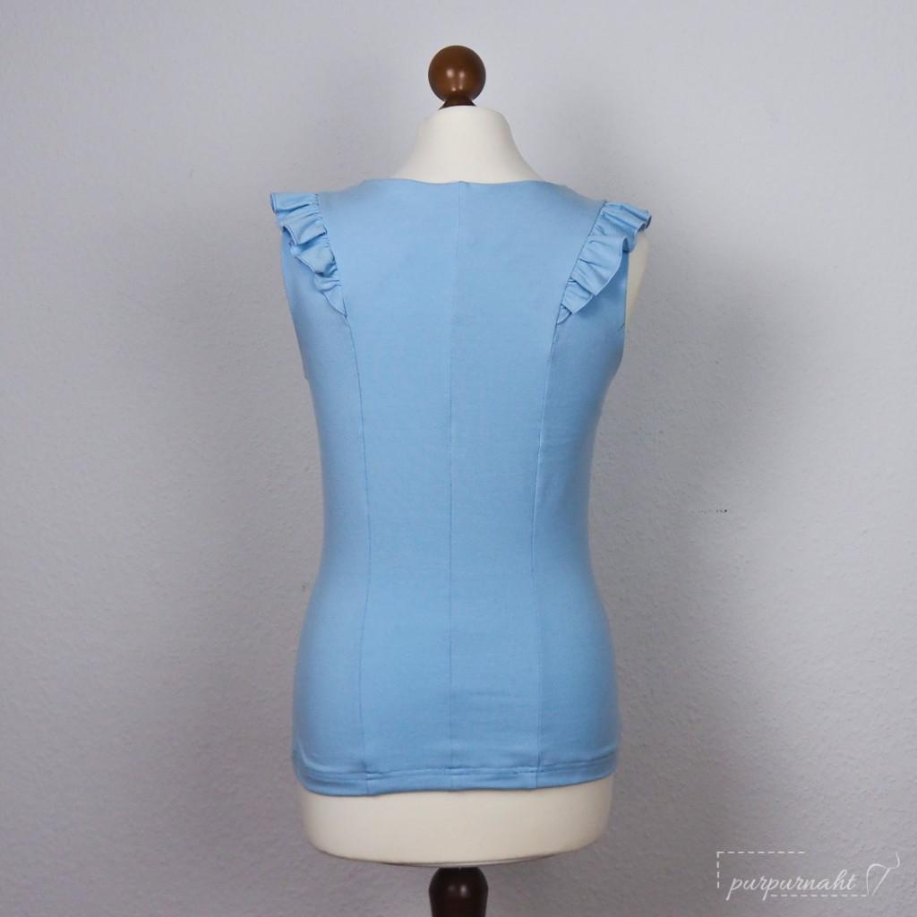 Shirt Cascada - Rückenansicht