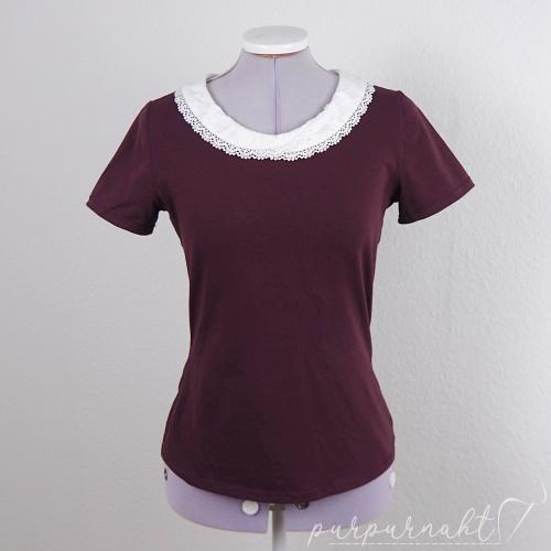 rotes T-Shirt - Vorderansicht